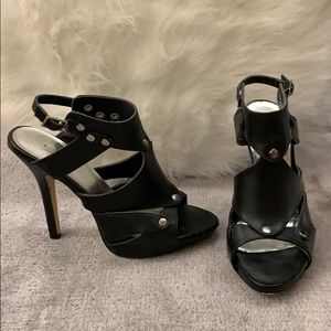 Black Open Toe Sandal